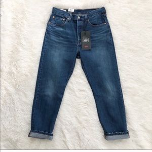 Levi's 501 NWT High Rise Straight Leg Crop Jeans